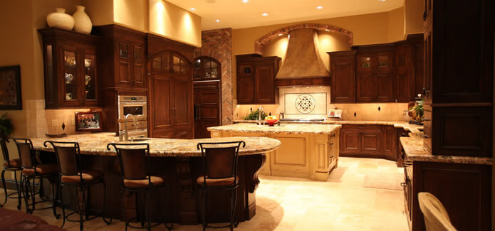 Custom Luxury Eagle Idaho Kitchen