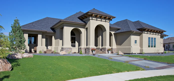 Custom Luxury Eagle Idaho Golf Home
